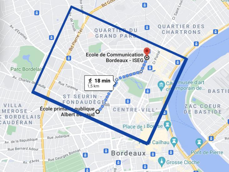 Bordeaux Jardin Public recherche maison 5 chambres 210810