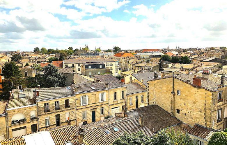 Bordeaux vue du 6eme etage
