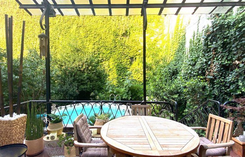 Terrasse Jardin Bordeaux Chartrons